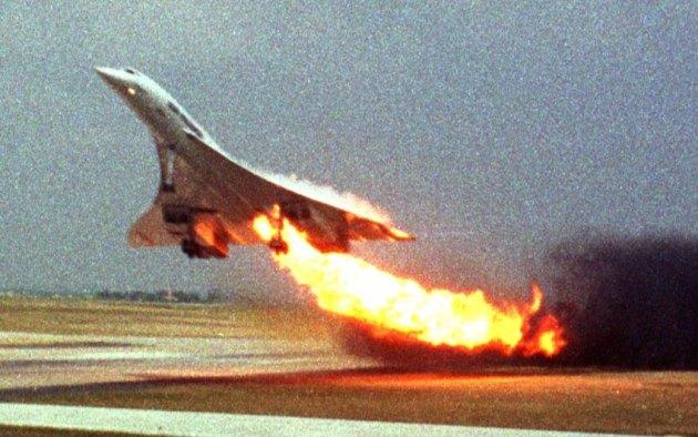 Frankreich Concorde Unfall Prozess